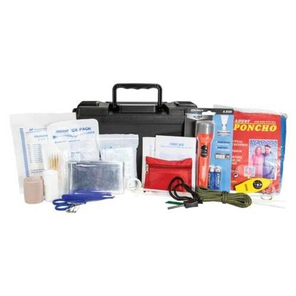 Life+Gear 41-3815 150-Piece Waterproof First Aid and Survival Kit Ammo Can
