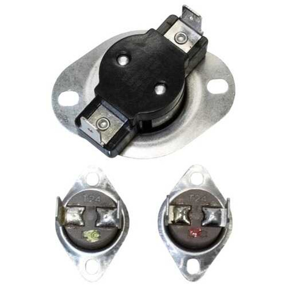 NAPCO ELE-LA1053 LA-1053 Special Dryer Thermostat Hi-Limit Kit with Fuse and Thermal Limits for Ele
