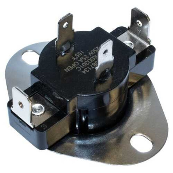 NAPCO ELE-N3387134 N3387134 Dryer Thermostat with Heat Anticipator for Whirlpool 3387134