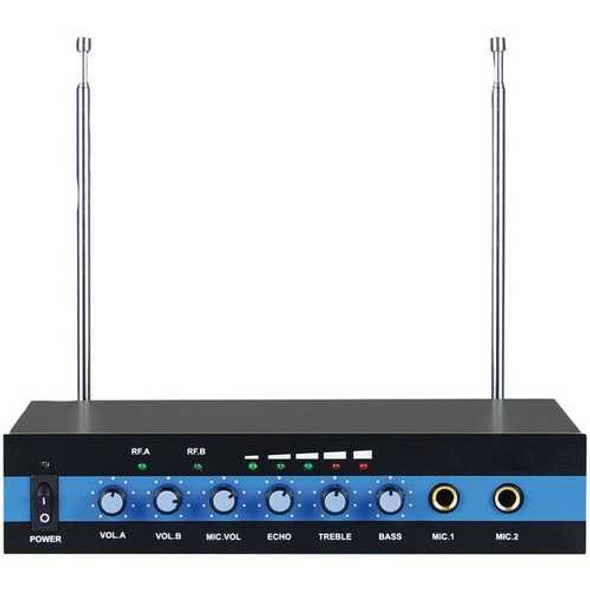 BLACKMORE PRO AUDIO BMP-60 BMP-60 Dual-Channel VHF Wireless Microphone System