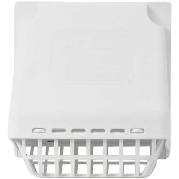 Deflecto HR4W Replacement Wide-Mouth Vent Hood with Detachable Bird Guard