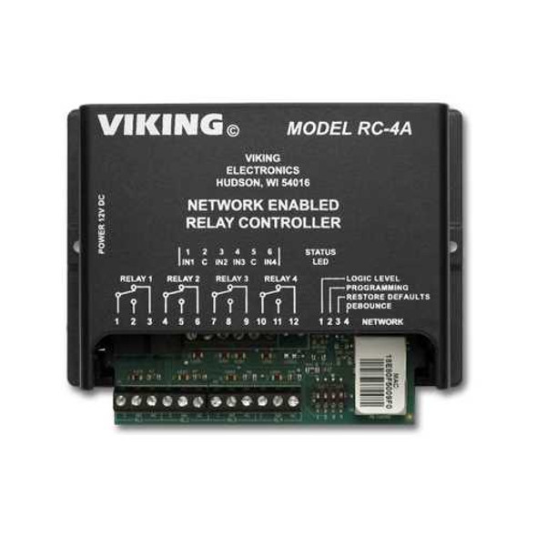 Network Enabled 4 Relay Controller