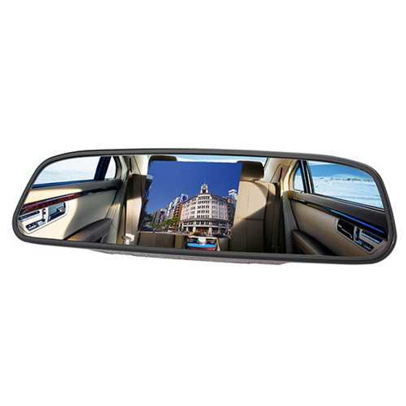 3.5 Inch Car Vehicle Security Rear View System TFT LCD Monitor