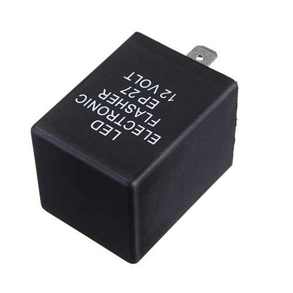 EP-27 LED Flasher Relay Flash Turn Signal Decoder Load Equalizers