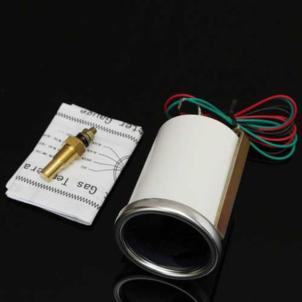 """2"""" 52MM Universal Auto Red LED Water Temperature Car Gauge Meter"""