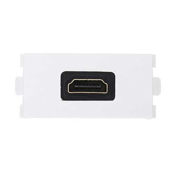 HD Female to Female Connector with 90 Degree Angle Side HD Wall plate