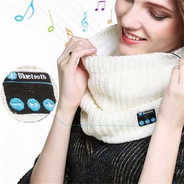 Universal bluetooth Headset Scarf Warm Winter Knitting Music Collar Scarf for iPhone Samsung