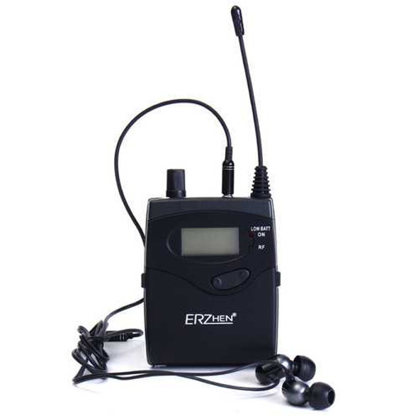 ERZhen In-Ear Receiver for Professional Stereo Wireless Monitor Stage System