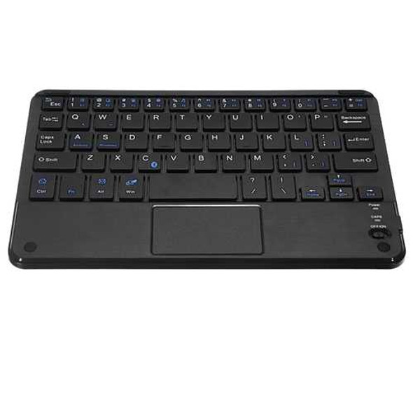 B.O.W HB119 Universal Wireless bluetooth Touch Keyboard with Leather for Tablet Cell Phone