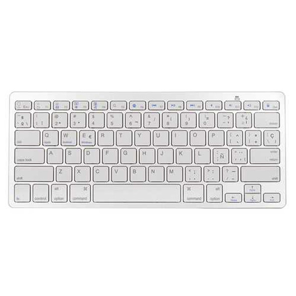 Universal Spanish Layout bluetooth Keyboard For Phone iPad Tablet