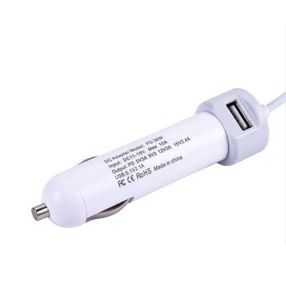 PD 36W USB2.0 Type C Car Charger With Quick Charge 3.0 For Cellphone Tablet