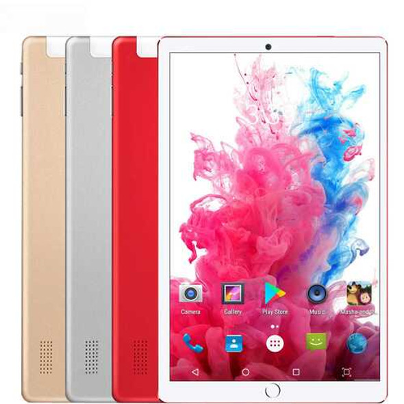 BDF 10.1 inch Tablet Computer MTK 6580 3G / 4G Call Tablet PC Android 7.0 5000mAh Battery blue_Stan