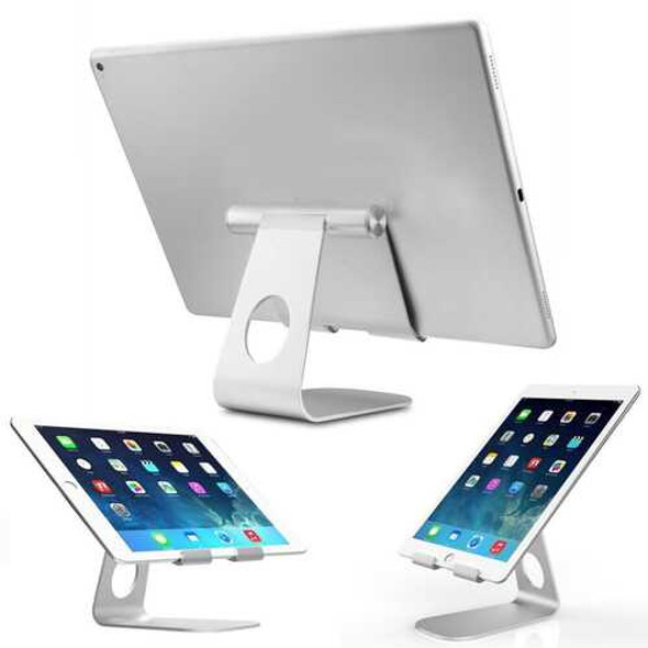 270° Rotatable Foldable Aluminum Alloy Desktop Holder Tablet Stand for Samsung Galaxy Tab Pro S iPa