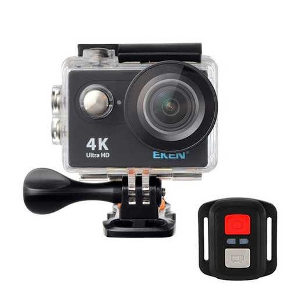 EKEN H9R Sport Camera Action Waterproof 4K Ultra HD 2.4G Remote WiFi Without live Streaming Function