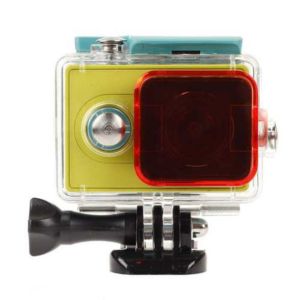 Polarizer Under Water Dive Lens Cullender For Xiaomi Yi Sport Action Camera