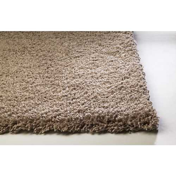 8' x 10'  Polyester Beige Area Rug