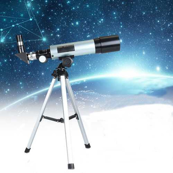 F36050M Outdoor Astronomical Telescope Monocular Space Spotting Scope With Portable Tripod