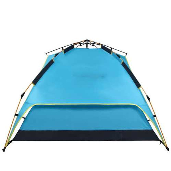 IPRee?® 200 x 200 x 135cm 3-4 Person Camping Tent Dual Layer Waterproof Windbreak Portable Outd