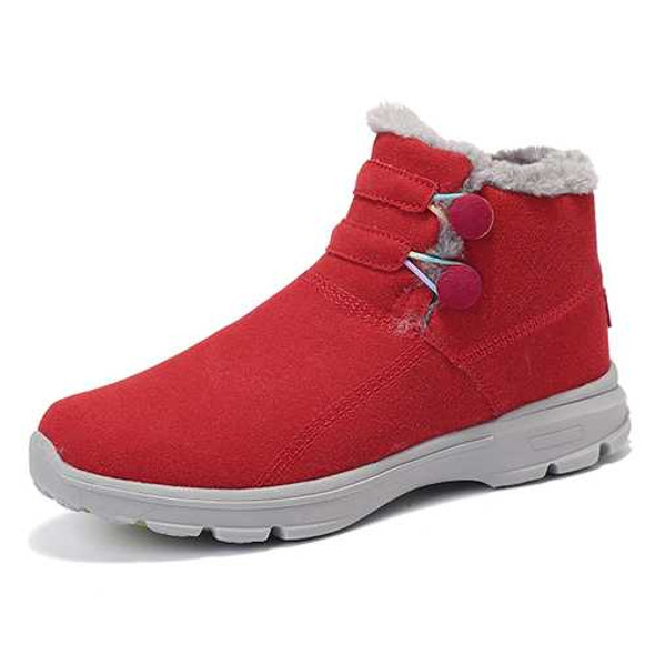 Snow Boots Fur Lining Cotton Non Slip Outdoor Sport Shoes