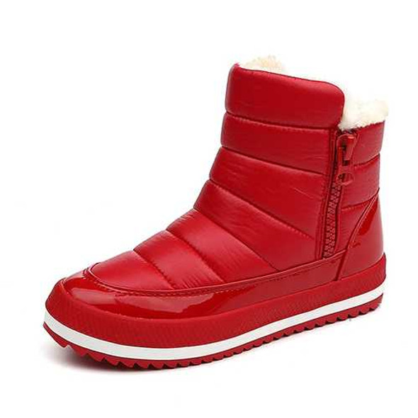Snow Boots Winter Women Keep Warm Cotton Shoes Flat Outdoor Boots