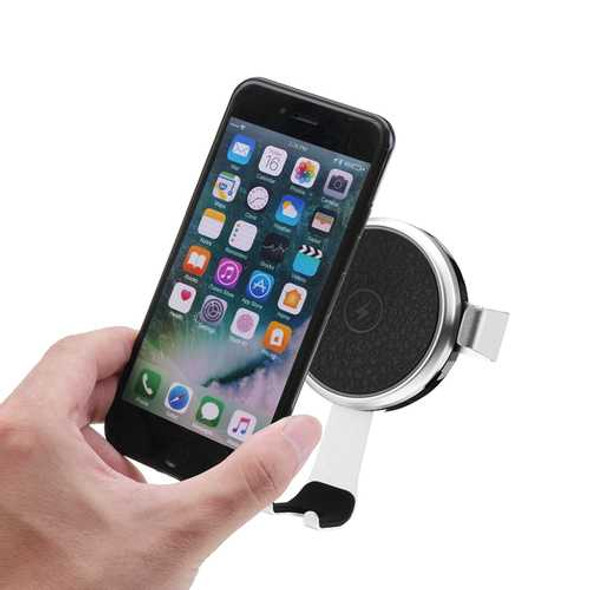 Bakeey 10W Gravity Auto Lock Qi Wireless Fast Car Charger For iPhone X 8Plus Xiaomi Mix 2s S9+ S8