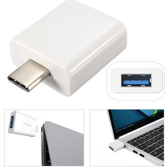 USB 3.1 Type C Male to USB 3.0 Female Adapter For MacBook 12Inch Nokia N1