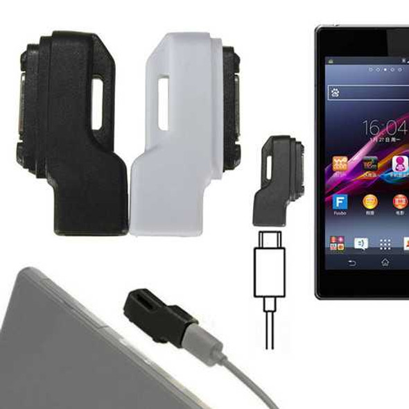 Mini Micro USB To Magnetic Charger Adapter For Sony Xperia Z1 Z2 Z3
