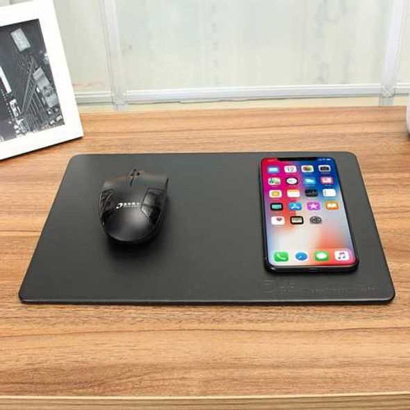 Qi Wirelss Charging Mouse Pad For Samsung Galaxy Note 8/S8/S8 Plus/S7 Edge/iPhone X/iPhone 8 Plus