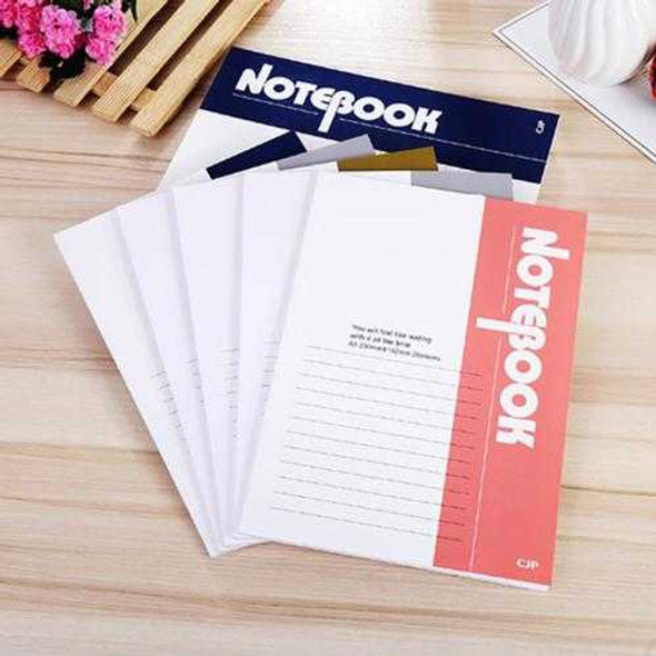 20Pcs A5 Size Writing Journal Diary Notebook Daily Notepad 40 Pages Write In With Lined Paper