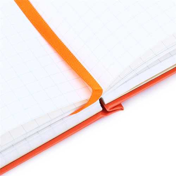 A5 Diary Notebook Hardcover Medium Dotted Grid For Journal Travel Business Writing Stationery