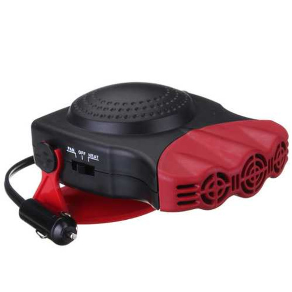 150W 2 in 1 Car Heater Heating and Cool Fan Windscreedn Demister Defroster