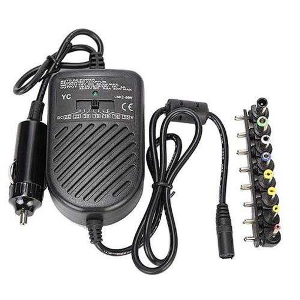 Universal Laptop Notebook Car Auto Charger Power Supply Adapter 15V-24V With 8 Detachable Plugs