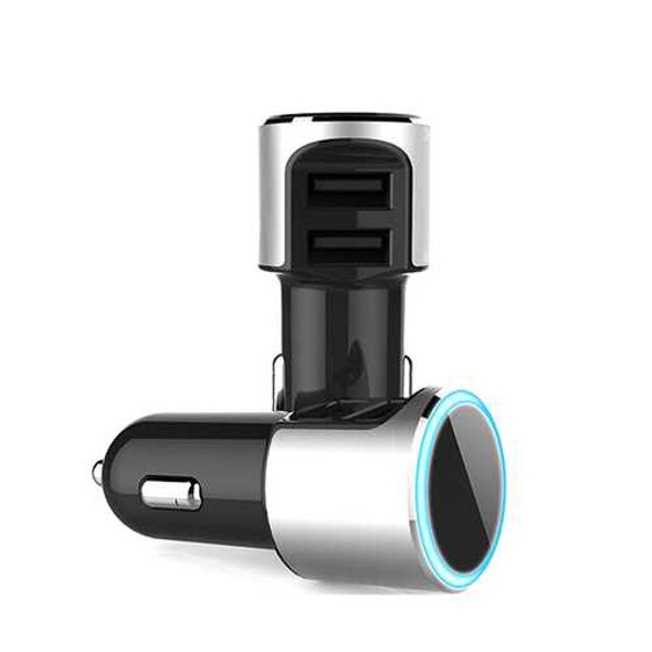RCF R70 Overload Protection Dual USB Interface Portable Car Charger for Smartphones