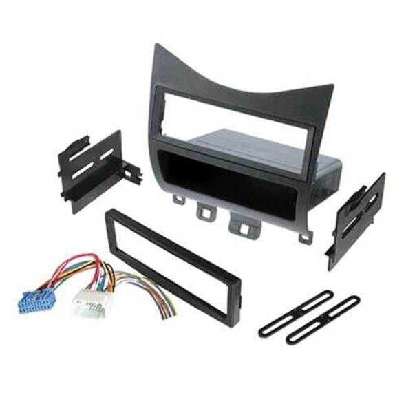 American International HONK823H Single-DIN or ISO with Pocket Relocation Kit with Harness for Honda