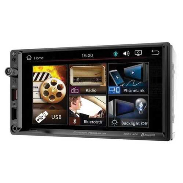 Power Acoustik PL-700HB PL-700HB 7-Inch Double-DIN In-Dash All-Digital Media Receiver with Bluetoot
