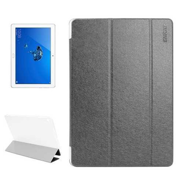 ENKAY Folding Stand PU Leather Case Cover For Huawei Honor Waterplay Tablet