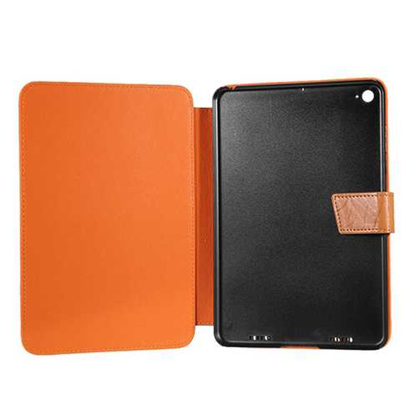 PU Leather Case Folding Stand Printing Cover for 7.9 Inch Mi Pad 3