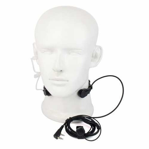 Retevis 2 Pin Throat Walkie Talkie Accessories Headset For Baofeng UV 5R Retevis H777 RT5R For Kenw