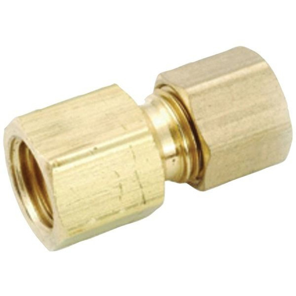 """No Logo 54822-0606 3/8"""" Flare Adapter x 3/8"""" Compression Adapter"""