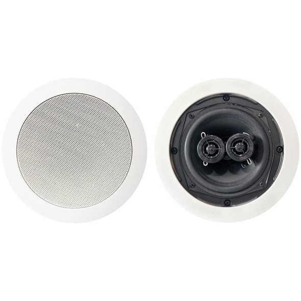 BIC America MSR5D Dual Voice-Coil Stereo In-Ceiling Speaker (5.25 Inch, 75 Watts)