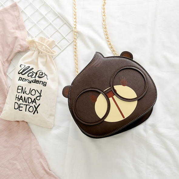 Color: Coffee - Small round bag