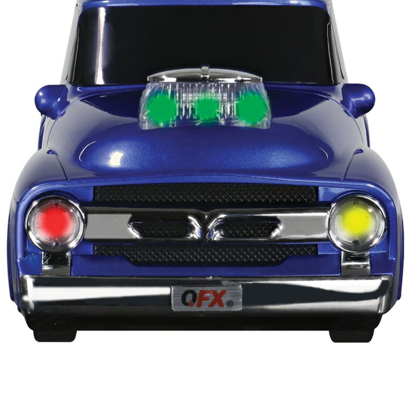 QFX BT-1956BLU Ford On the Go Light and Sound Bluetooth Speaker (Blue)