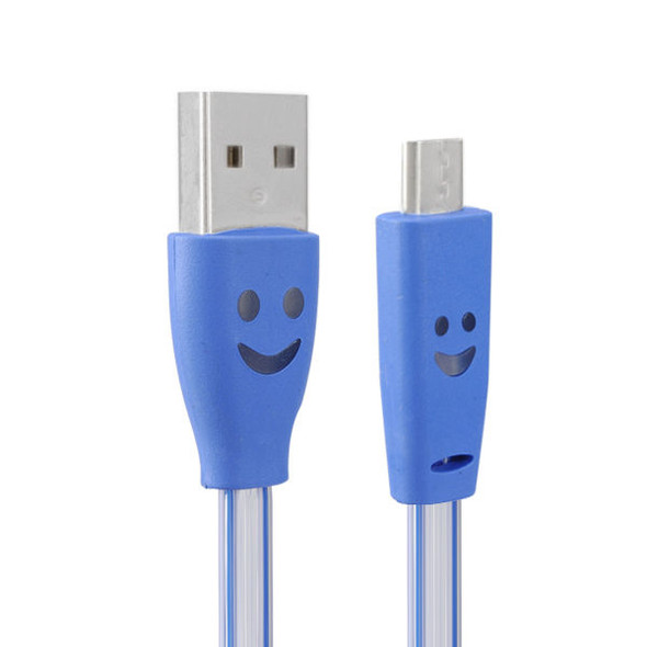 1.0M USB 2.0 to Micro USB LED Charging Data Line for Tablet Cell Phone