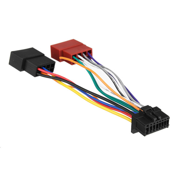 Car Stereo Radio ISO Wiring Harness Connector 16-Pin PI100 for Pioneer 2003-Up