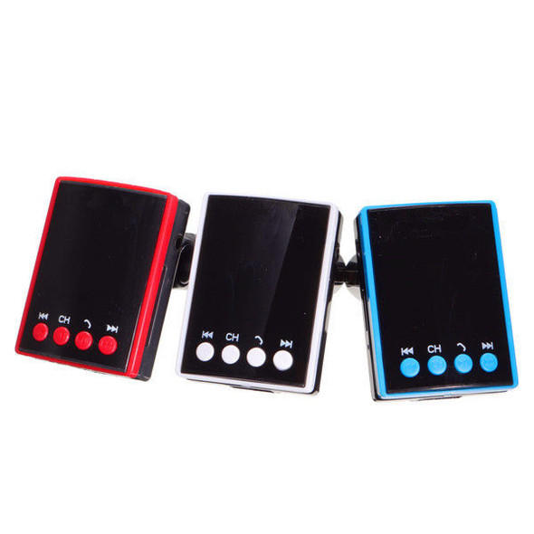 Car Kit Wireless bluetooth Hands Free MP3 Player Radio FM Transimittervs with Remote