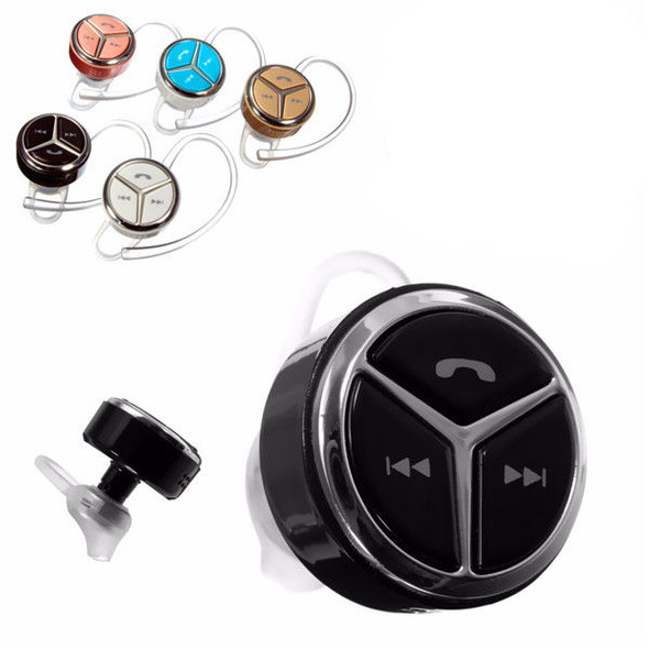 Mini Wireless bluetooth In-Ear Headset Voice Prompt Earphone Stereo Headphone For Iphone Samsung HT