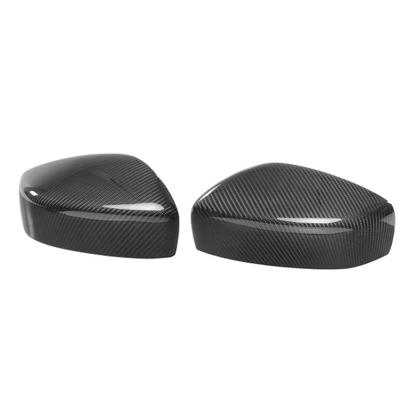 Pair Carbon Fiber Direct Add On Car Mirror Cover for 09 to 15 INFINITI G25 G37 Q40 Q60