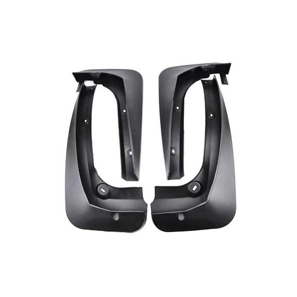 4PCS Car Front and Rear Mud Flaps Black Plastic Mudguards for BMW X3 F25 2011-2016