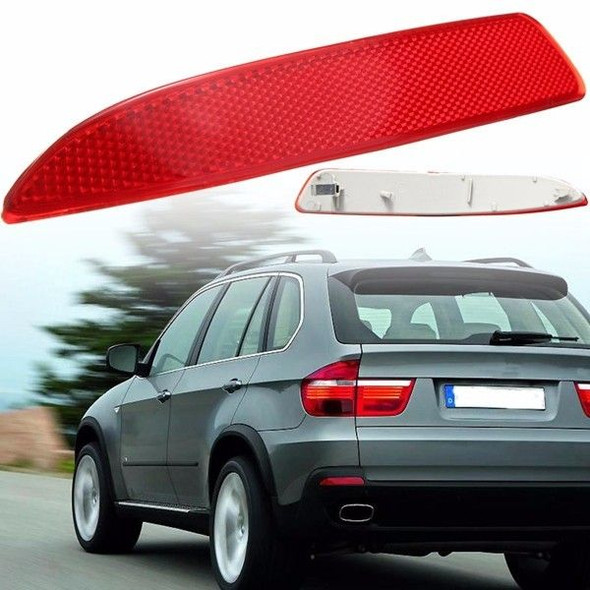Left Side Red Rear Bumper Reflector Light For BMW X5 E70 2007-2013 63217158949
