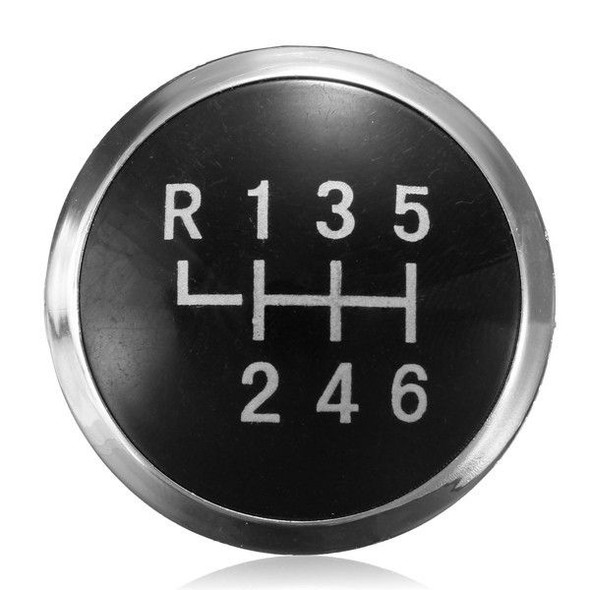 Replacement 6 Speed Gear Knob Badge Emblem Cap For VW T5 Transporter 2003-2010
